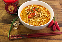 Quick Garlic & Chilli Laksa