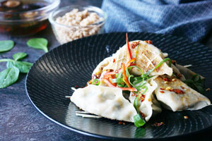 Vegetarian Chinese Dumplings