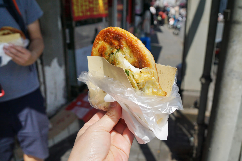 Day 3 - Shanghai Trip - Scallion Pancake