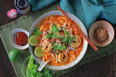 Chicken and Prawn Laksa