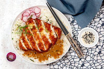 Tofu Katsu Don